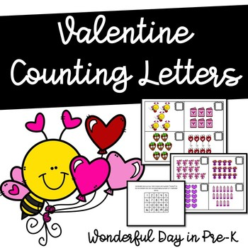 Valentine Counting Letters