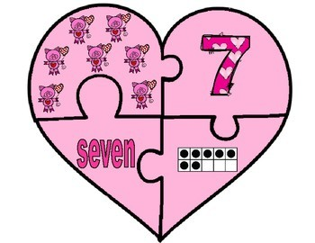 Valentine Counting Puzzle