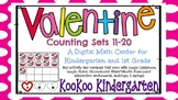 Valentine Counting Sets-A Digital Math Center (Compatible