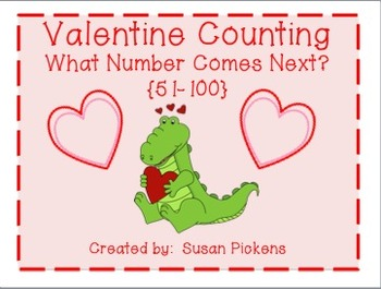 Valentine Counting - What Number Comes Next? {51-100}