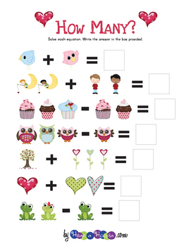 Valentine Counting and Adding