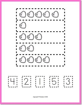 Valentine Counting for PreK