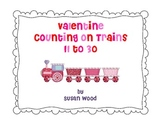 Valentine Counting on Trains 11-30