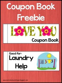 Valentine Coupon Mini Book