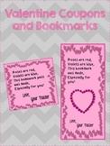 Valentine No Homework Coupon and Bookmark