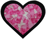 Valentine Craft Activity: Stained Glass Heart