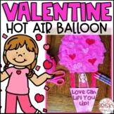 Valentine Craft- Hot Air Balloon