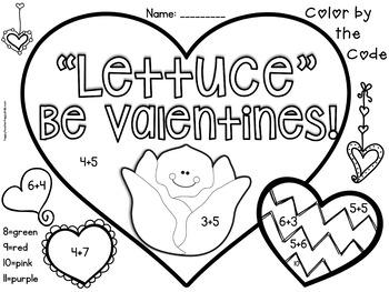 Valentine Craft - Lettuce