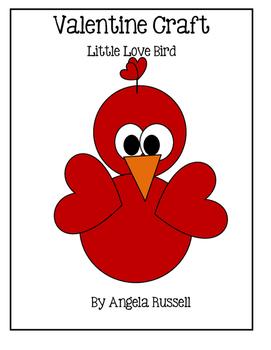 Valentine Craft ~ Little Love Bird