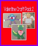 Valentine's Day Craft Pack 2 - 3 Craft Bundle