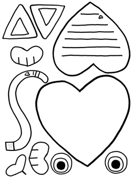 Valentine Craftivity- Cat