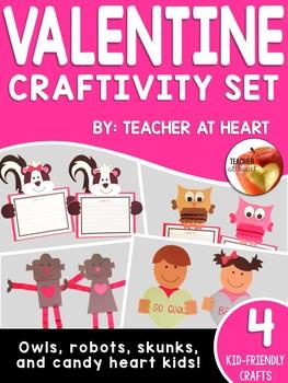 Valentine Craftivity Set 2