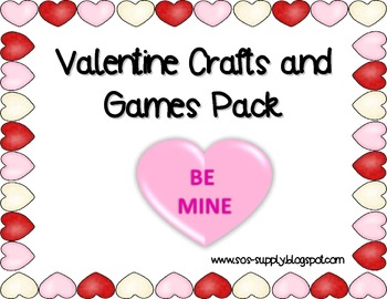 Valentine Crafts and Activities