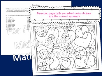 Valentine's Day - Create Your Own Coloring Activity