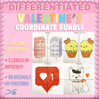 Valentine Graphing - Coordinate Bundle - Creative Set