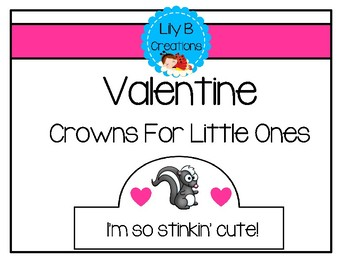 Valentine Crowns For Little Ones