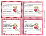 Valentine Cupid Clean Desk Awards