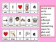 Handwriting: Valentine Cut Glue and Write Picture Word Sentence for Center Time