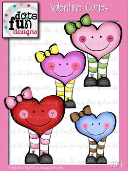 Valentine Cuties ~Dots of Fun Designs~