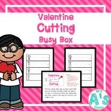 Valentine Cutting Busy Box