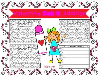 Valentine Dab It Addition