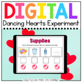 Valentine Dancing Hearts Digital Experiment | Distance Learning