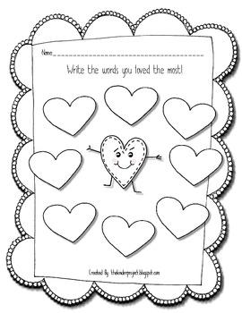 Valentine Day - CVC Words