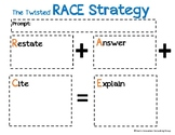 The Twisted R.A.C.E. Strategy Graphic Organizer