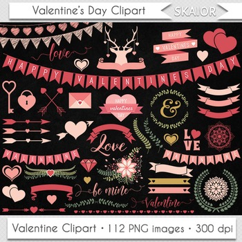 Valentine Day Clipart Valentines Clipart Hearts Clipart Love Clipart Graphics