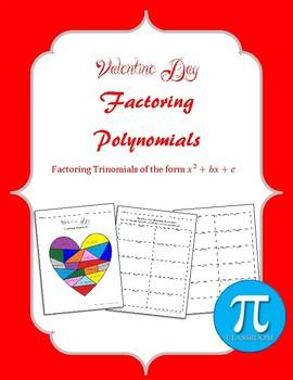 Valentine Day Factoring Polynomials