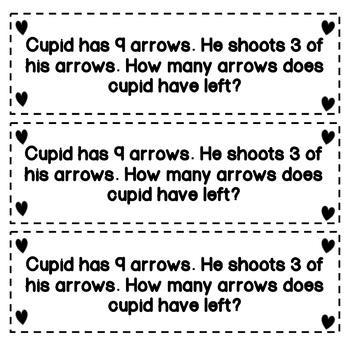 Valentine Day Math - Interactive Notebook