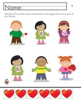Valentine Day- One to one correspondence