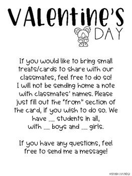 Valentine Day Party Planning Freebie