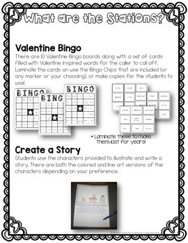 Valentine's Day Party Stations