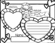 Valentine Day Placemats and Bookmark
