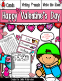 Valentine Day Writing Prompts and Write the Room