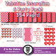 Valentine Decoration / Classroom Theme Mega Pack! 354 Pages!