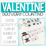 Valentine Delivery Counting Center {Valentine's Day}