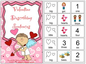 Valentine Describing Sentences for Speech & Language
