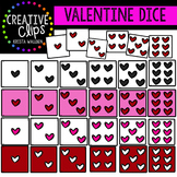Valentine Dice {Creative Clips Digital Clipart}