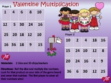 Valentine Dice Multiplication Game