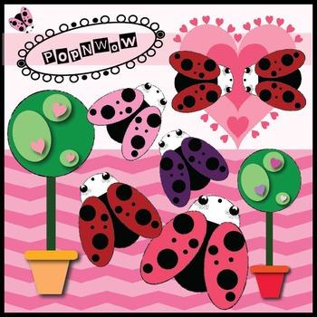 Valentine Digital Clips Bundle ~ PonNwow