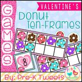 Donut Ten Frames