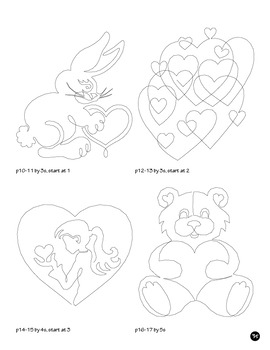 Valentine Skip Count by 1, 2, 3, 4, 5, 6, 7, 8, 9, 10, Dot to Dot Math