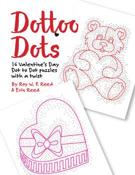 Valentine's Skip Count by 1, 2, 3, 4, 5, 6, 7, 8, 9, 10 Dot to Dot Math Bundle