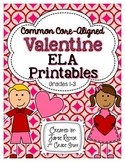 Valentine ELA Printables {Aligned to Common Core Standards}