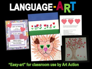 "Valentine ""Easy-Art"" Printable Lesson Plan"