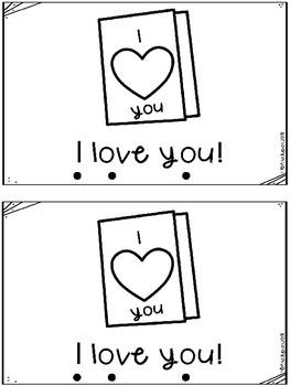Valentine Emergent Reader