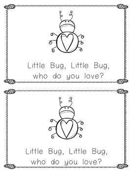 Valentine Emergent Reader: Little Frog, Little Frog, Who Do You Love