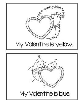 Valentine Emergent Reader - My Valentine